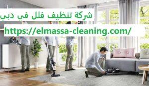 شركة تنظيف فلل في دبي